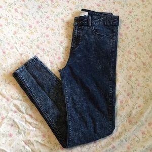Forever 21 Acid Wash Premium Denim Jeans